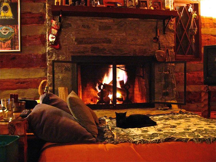 kominek robi klimat w salonie